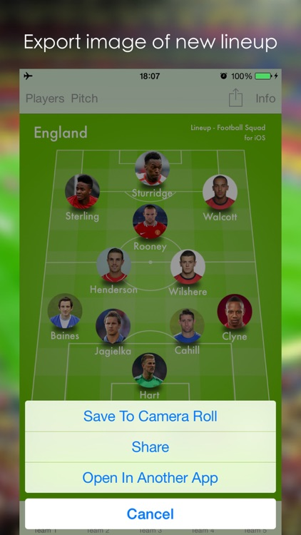 Lineup - Football Squad screenshot-4