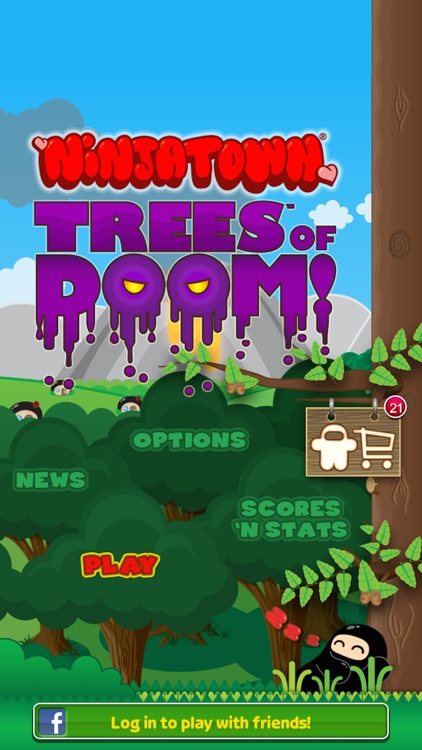 Ninjatown: Trees Of Doom!