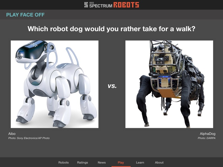 Robots for iPad