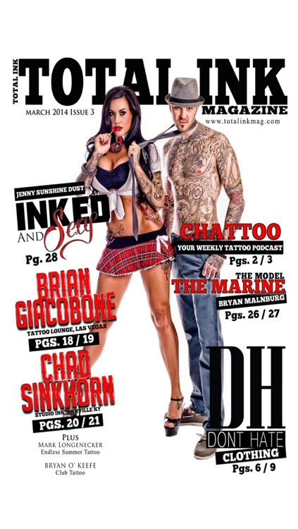 Total ink: Tattoo Magazine