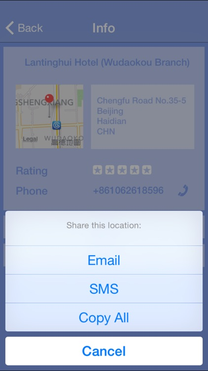 Call a Hotel - Instantly find accomodation, anytime, anywhere. screenshot-3