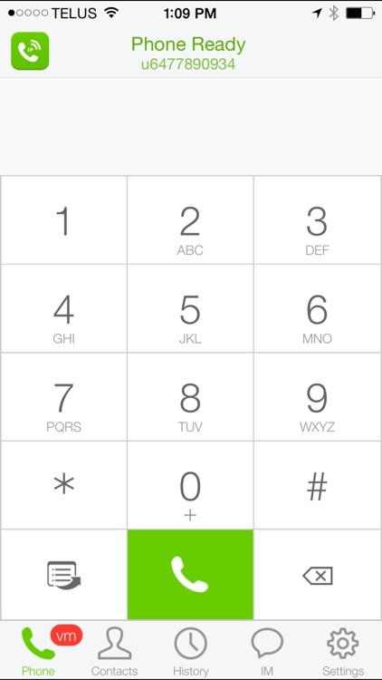 TELUS BVoIP Mobile for iPhone