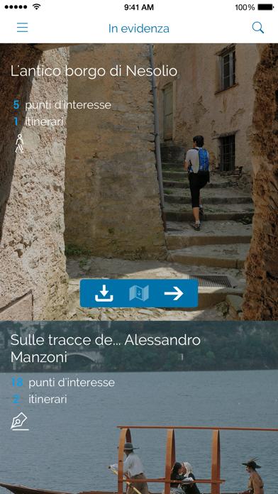 Screenshot of Lecco App1