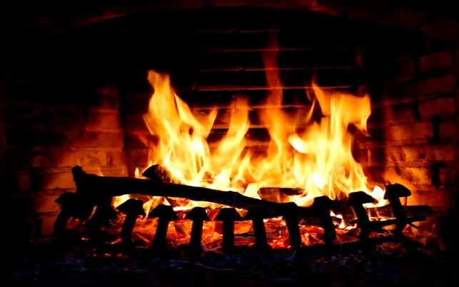 Fireplace Screensaver Wallpaper Hd With Relaxing Crackling Fire