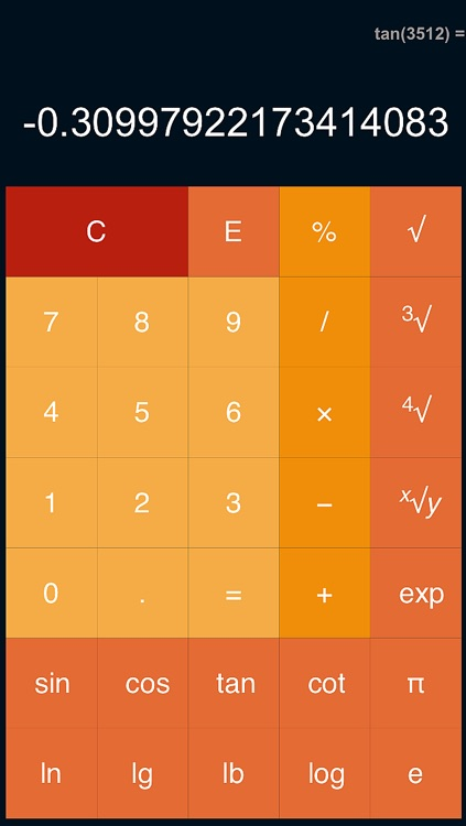 Calculator : Scientific & Percentage & Flat Design screenshot-3