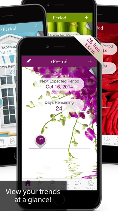 iPeriod Period Tracker Ultimate / Menstrual Calendar screenshot four
