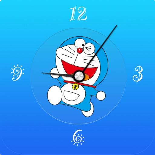 Clock for Doraemon