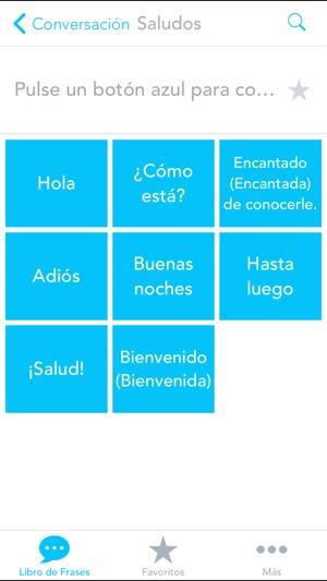 App Store Libro De Frases Gratis Con Voz Del Español Al