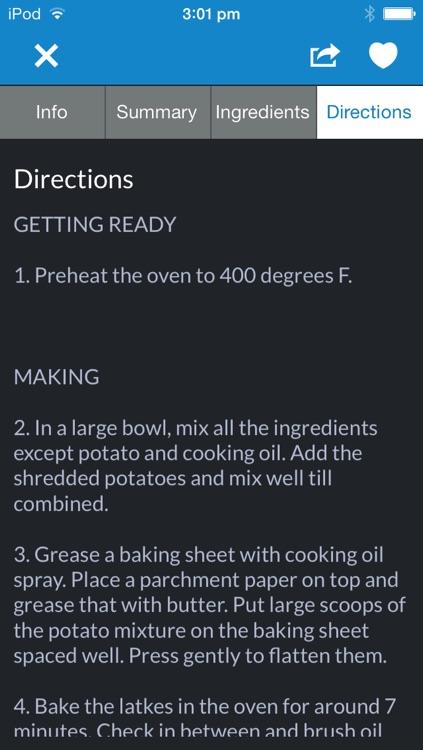 Kosher recipes by ifood.tv screenshot-3