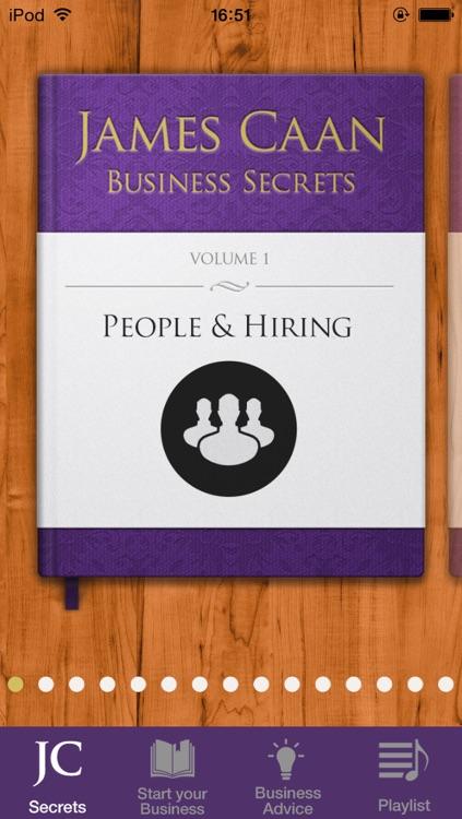 James Caan Business Secrets