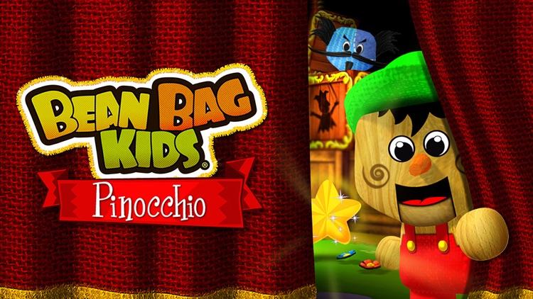 Pinocchio by the Bean Bag Kids® screenshot-0