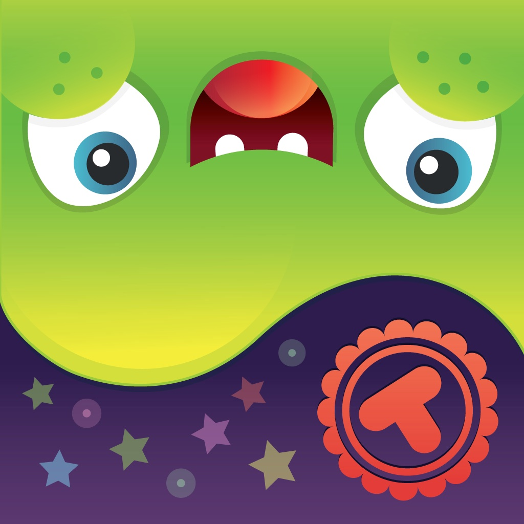 Toonia Jelly - Learn about Colors, Shapes and Emotions with Virtual Pet Monster - Fun Educational Toy for Kids and Toddlers