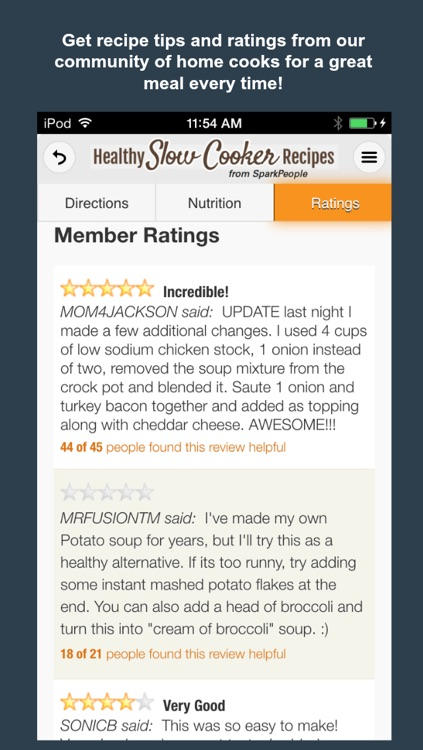 Healthy Slow Cooker Recipes from SparkPeople screenshot-4