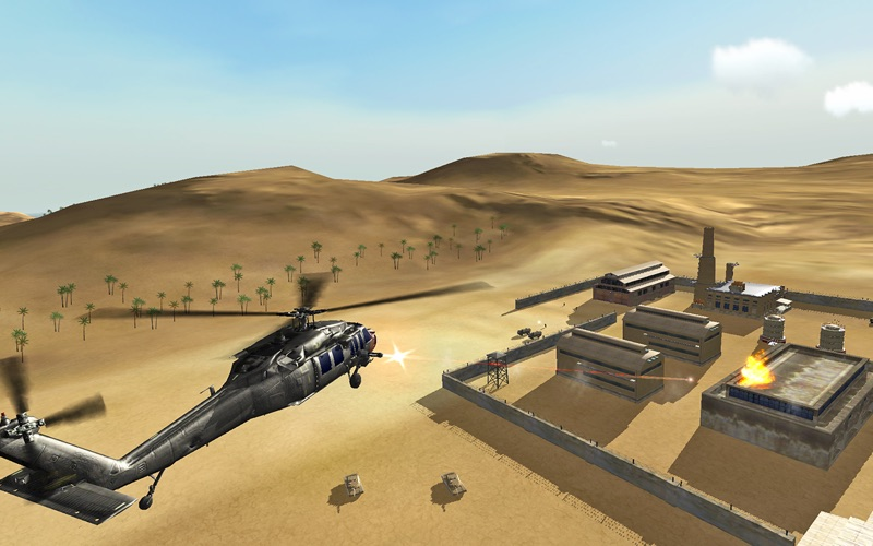 Helicopter Sim Pro - Hellfire Squadron screenshot 4