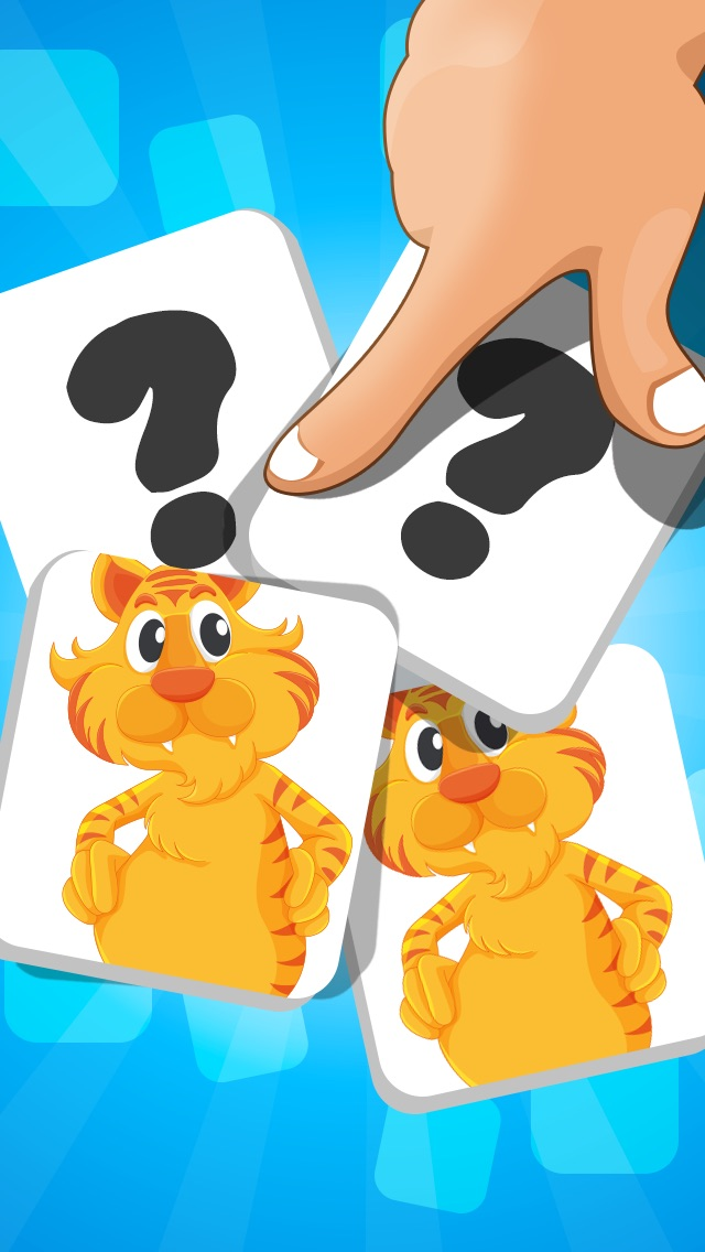A Matching Game for Children: Learning with animals of the