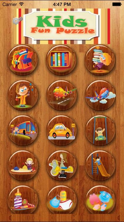 Kids Fun Puzzle screenshot-3