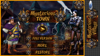Mysterious Town : The Game of hidden objects in Dark Night,Garden,Dark Room,Hunted Night,City and Jungleのおすすめ画像1
