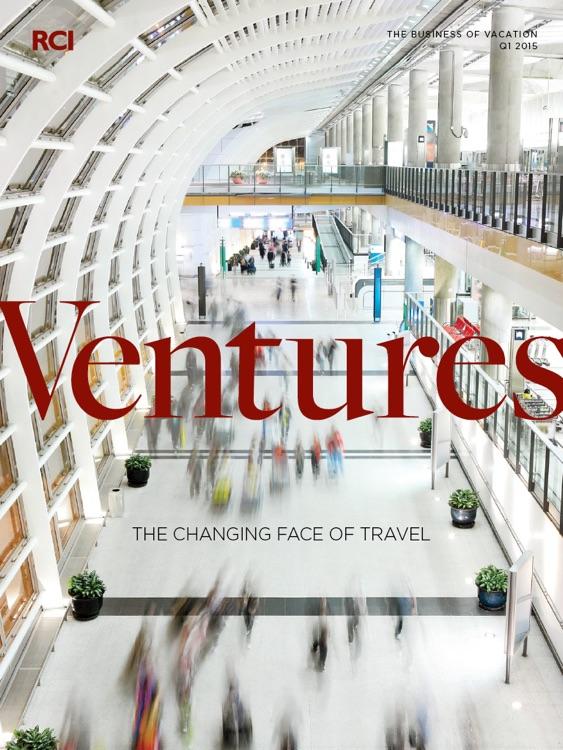 RCI® Ventures magazine app for the iPad®