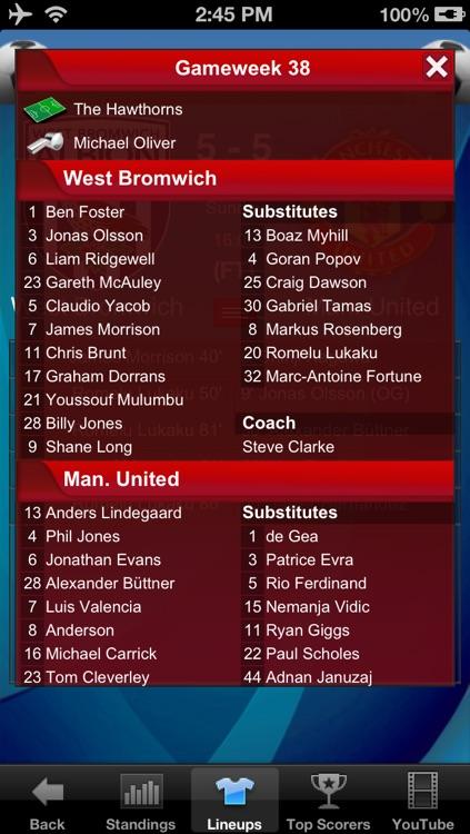 Premier League Football Pro screenshot-3