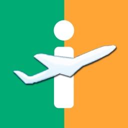 Dublin Airport - iPlane Ireland Flight Information
