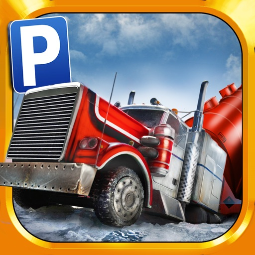 Ice Road Trucker Parking Simulator Games