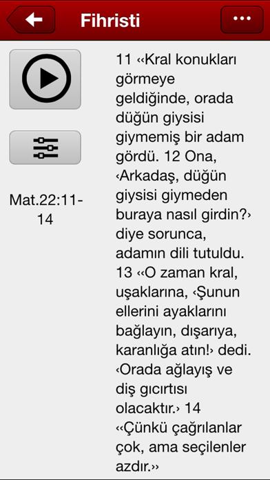 Kutsal Kitap'in Fihristi screenshot three