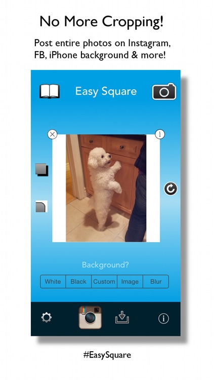 Easy Square - Post Entire Photos On Instagram With No Crop