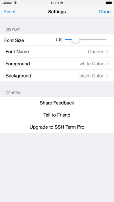 SSH-Terminal IPA Cracked for iOS Free Download