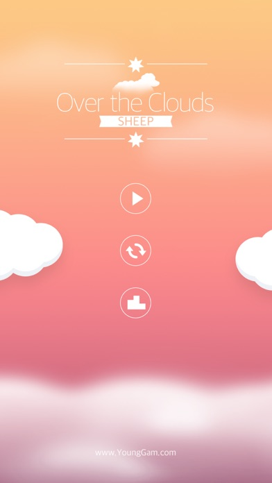 Over the Clouds : Sheep Free ( Sleepy & Healing game ) screenshot two