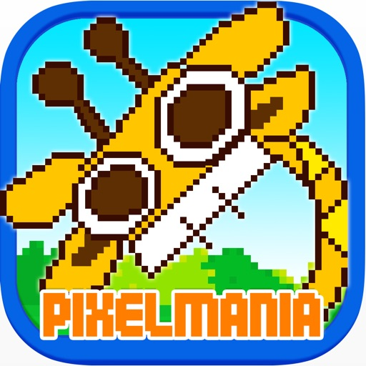 Pixel Mania - the best brain challenge ever! Enjoy Lumbermen, Melody Arrow, Zombie Hunter and Squares Puzzle