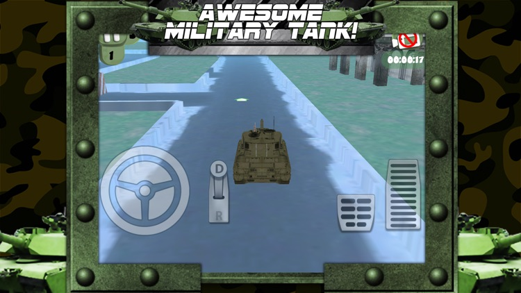 3D Army Tank Parking Game with Addicting Driving and Racing Challenge Games FREE