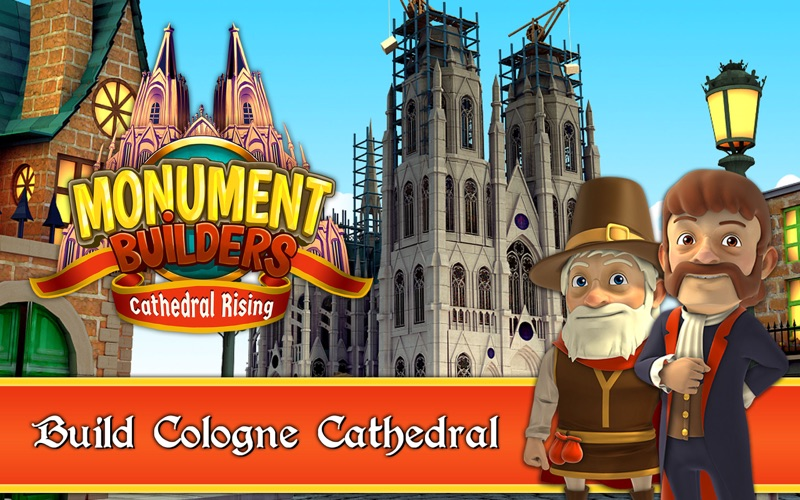 Monument Builders : Cathedral Rising screenshot 1