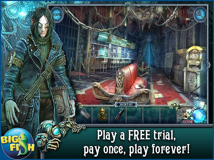 Fear For Sale: Nightmare Cinema HD - A Mystery Hidden Object Game screenshot-0
