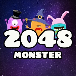 2048 Monster: Swipe Numbers Puzzle Game
