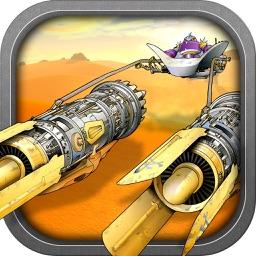 A Solar Pod Race - Fantastic Space Adventure