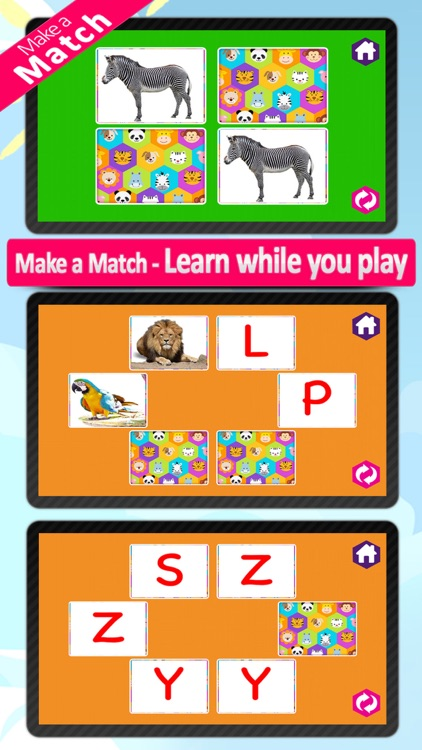 Animal alphabet for kids, Learn Alphabets with animal sounds and pictures for preschoolers and toddlers screenshot-3
