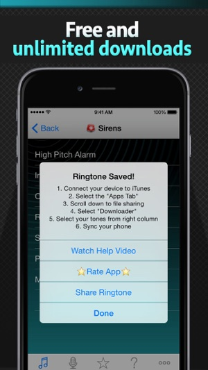Free Ringtone Downloader - Download the best ringtones on the App Store