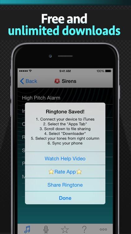 Free Ringtone Downloader - Download the best ringtones screenshot-4