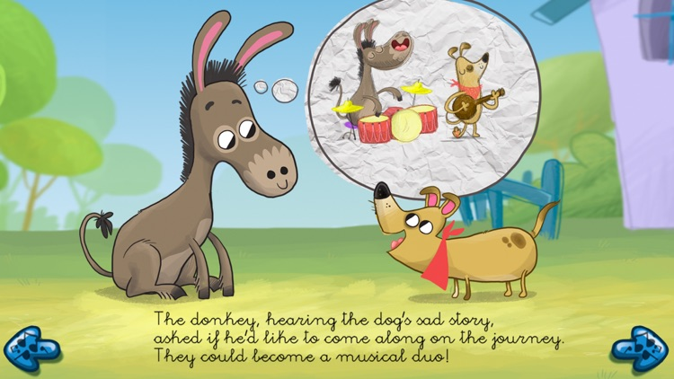 The musicians of Bremen - Free Book for kids!