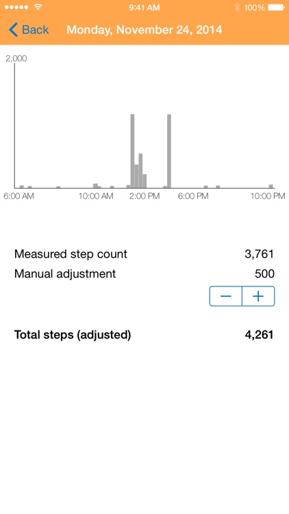 Pedometer - Track your steps