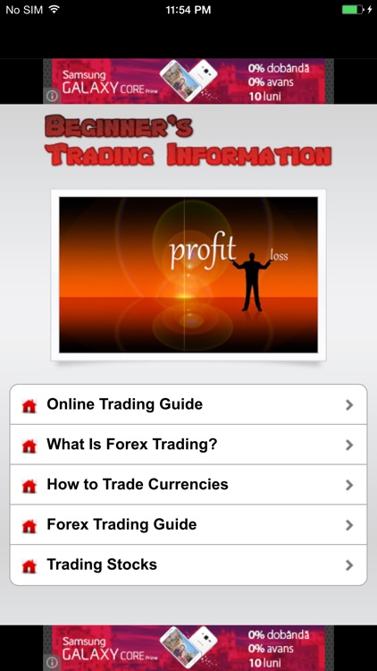 Beginner's Trading Information - Know How To Trade