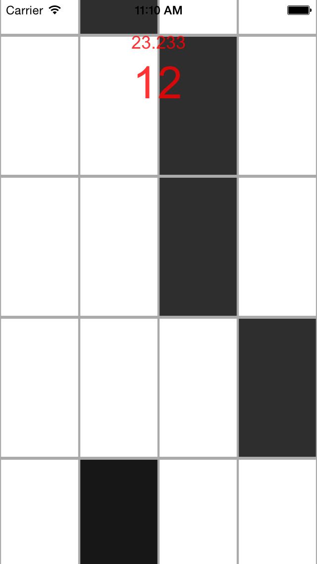 White Tiles- Don't touch white tiles screenshot three