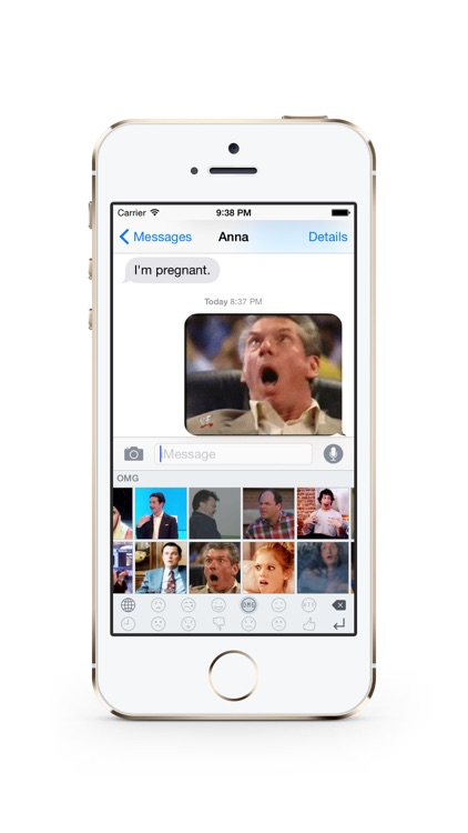 Reaction Gif Keyboard