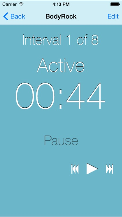 Fitness Interval Timer screenshot-1