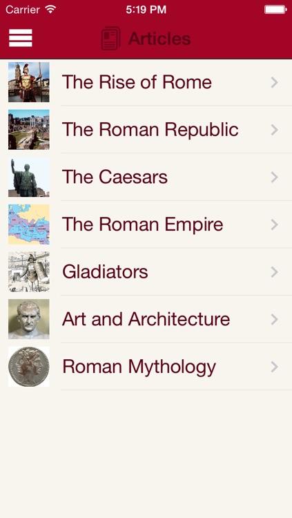 Britannica Kids: Ancient Rome screenshot-4