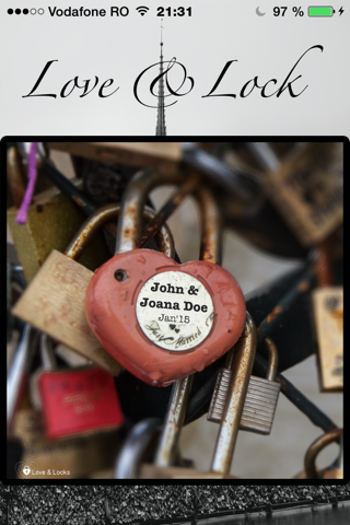 Love & Lock - náhled
