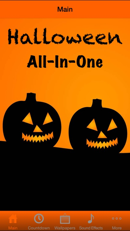 Halloween All-In-One (Countdown, Wallpapers, Music)