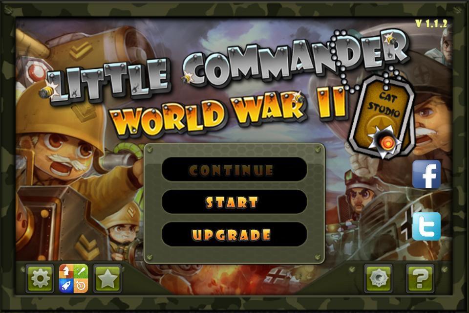Little Commander - World War II TD - Online Game Hack and