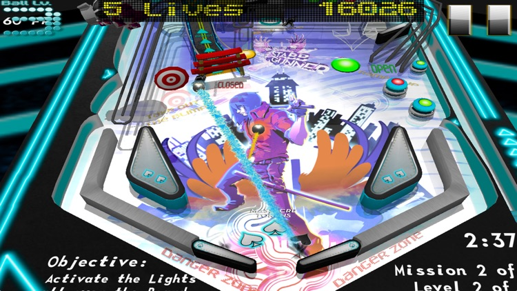 Pinball Massacre Lite screenshot-1