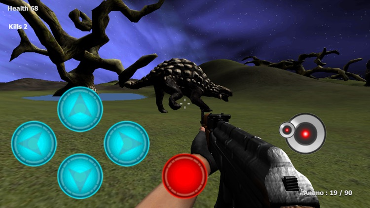 Dinosaur Hunter Rampage FPS screenshot-4